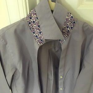 Brooks Brothers button down tunic dress shirt